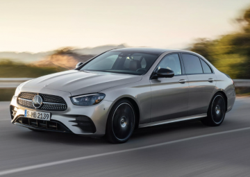 2021 Mercedes-Benz e-Class Sedan akıllı ve keskin